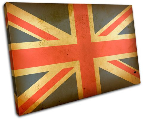 Union Jack Abstract Maps Flags - 13-1836(00B)-SG32-LO
